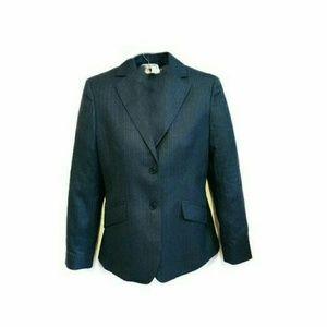 Brooks Brothers grey pinstripe wool blazer sz 10